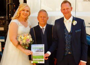 Huwelijksboom voor (on)fortuinlijk bruidspaar